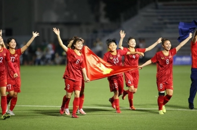 [Infographic] Vietnam's road to the 30th SEA Games women's football crown