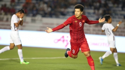 Duc Chinh vows to be best prepared for SEA Games final match against Indonesia