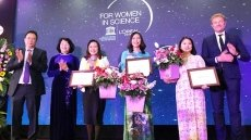 Female scientists receive L'Oreal - UNESCO awards