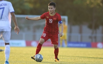 Quang Hai in 24-man shortlist for Best Footballer in Asia 2019