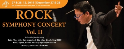 December 23-29: Rock Symphony Concert in HCMC