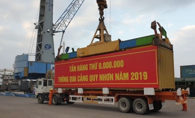 Quy Nhon Port welcomes nine-millionth tonne of cargo in 2019