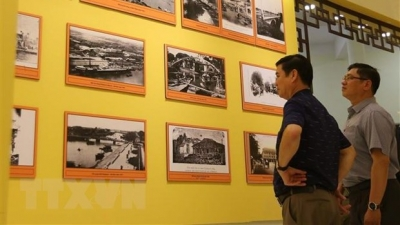 Exhibition features history of HCM City from feudal to modern city