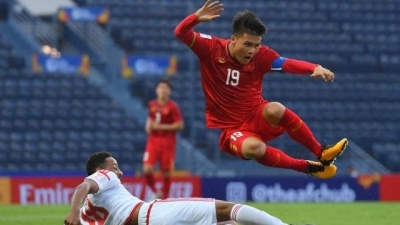 Quang Hai aims to collect full three points against Jordan