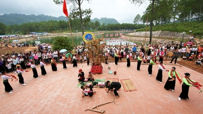 Check out the strange spring celebration customs of ethnic groups in northern Vietnam