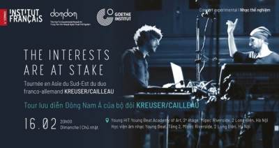 February 10-16: Exhibition: Southeast Asia tour of Kreuser/Cailleau in Hanoi