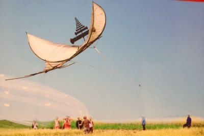 Flute kites: A way to create a symphony in the sky