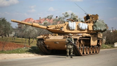 2,700 Turkish military vehicles enter Syria in 19 days
