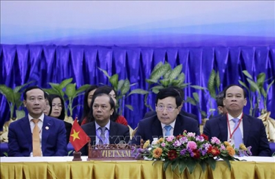 ASEAN foreign ministers talk COVID-19 fight