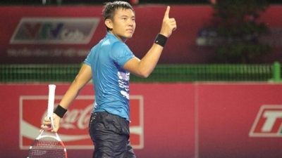Vietnam's top tennis player Nam advances in Egyptian tennis tournament