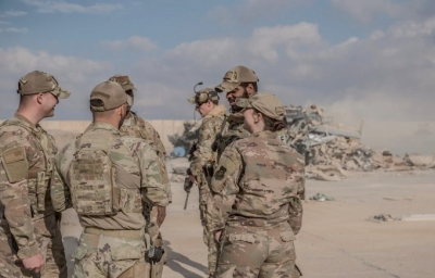 US-led coalition troops redeploy in Iraq, a strategic adjustment of Washington