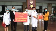Vietnamese medical staff never flinch in the face of difficulties