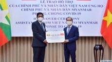 Vietnam supports Myanmar with US$50,000 donation in COVID-19 combat