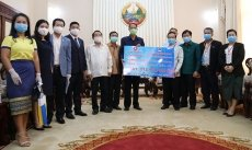 Vietnamese expat community support Laos in battling COVID-19