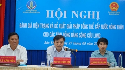 Measures discussed to supply clean water for Mekong Delta