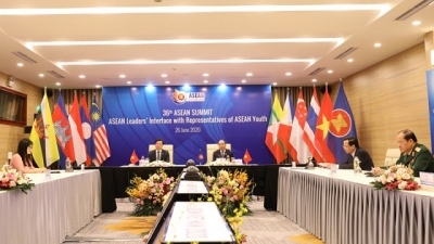 ASEAN leaders hold dialogue with ASEAN youth