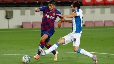 Suarez scores as Barca condemn Espanyol to relegation
