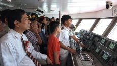 Ca Mau launches first sea route to Nam Du, Phu Quoc