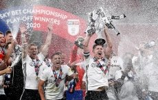 Fulham back in Premier League after playoff final win over Brentford