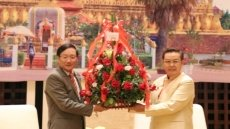 Congratulations extended to Lao Front for National Construction on 70th founding anniversary