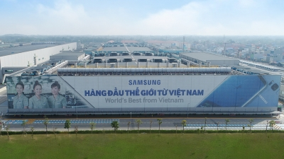 Vietnam remains Samsung's global manufacturing base
