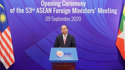 Promoting central role of ASEAN, strengthening sustainable cooperation with partners