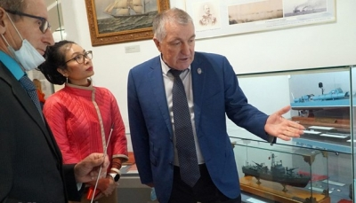 Exhibition spotlights Vietnam-Russia military cooperation