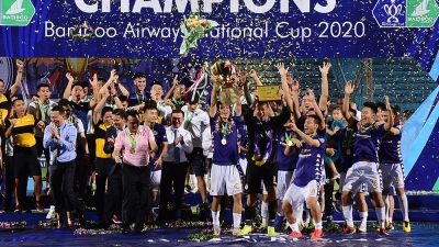 Hanoi FC successfully defend National Cup