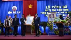 Pleiku recognised as first-class city under Gia Lai Province