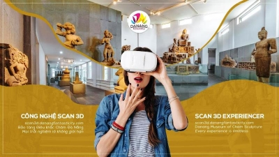 Da Nang offers virtual tour of Champa sculptures through 3D scans