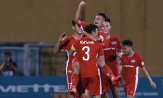 Saigon FC's unbeaten run halted as V.League resumes