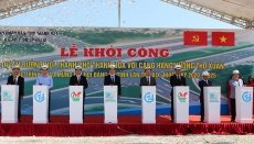 Work begins on road connecting Thanh Hoa city with Tho Xuan airport