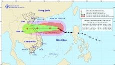 Typhoon Saudel forecast to weaken as it approaches Vietnamese coast