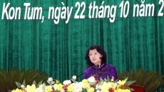 Vice President attends patriotic emulation congress of Kon Tum