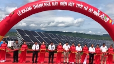 US$46.6 million solar power plant inaugurated in Ninh Thuan