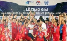 PVF beat SHB Da Nang to claim national U15 football title