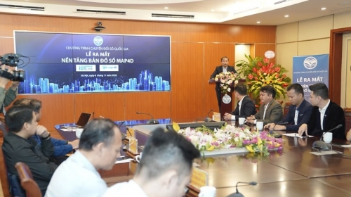 Vietnamese-made mapping service to facilitate digital transformation