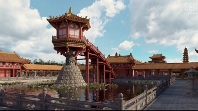 Vietnam's iconic One Pillar Pagoda reconstructed using virtual reality technology