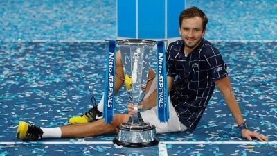 Medvedev storms back to beat Thiem and claim ATP Finals title