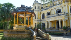 In a Hue palace, European style meets Asian tradition