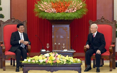 November 30- December 6: Lao PM visits Vietnam, co-chairs inter-governmental committee's session