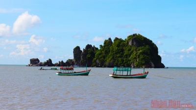 Potential for sea and island tourism in Kien Giang province