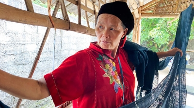 The story of brocade in Vietnam's northern mountainous region