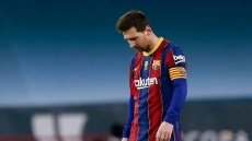 Football: Messi sees red as Bilbao stun Barcelona to win Spanish Super Cup