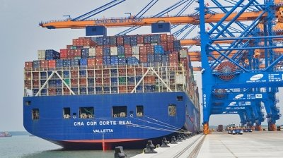 Gemalink port receives first commercial vessel