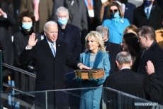 Biden sworn in as 46th US president, calls for national unity amid bitter division