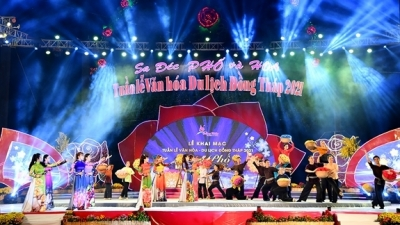 Culture and tourism week kicks off in Dong Thap
