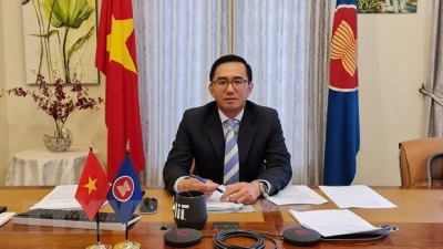 Vietnamese Ambassador assumes office as ASEAN Deputy Secretary-General
