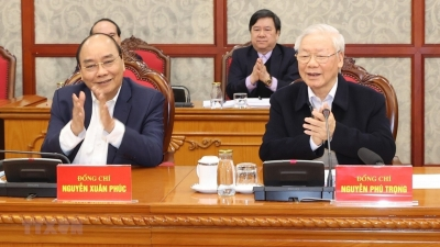 February 15-21: Politburo and Secretariat of Party Central Committee hold first session