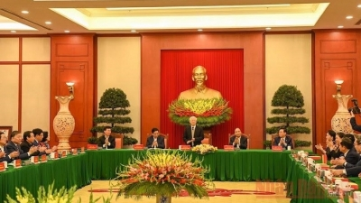 February 22-28: Politburo holds meeting with former Party officials